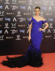 alfombra-roja-premios-goya-2014-norma-ruiz-donna-karan