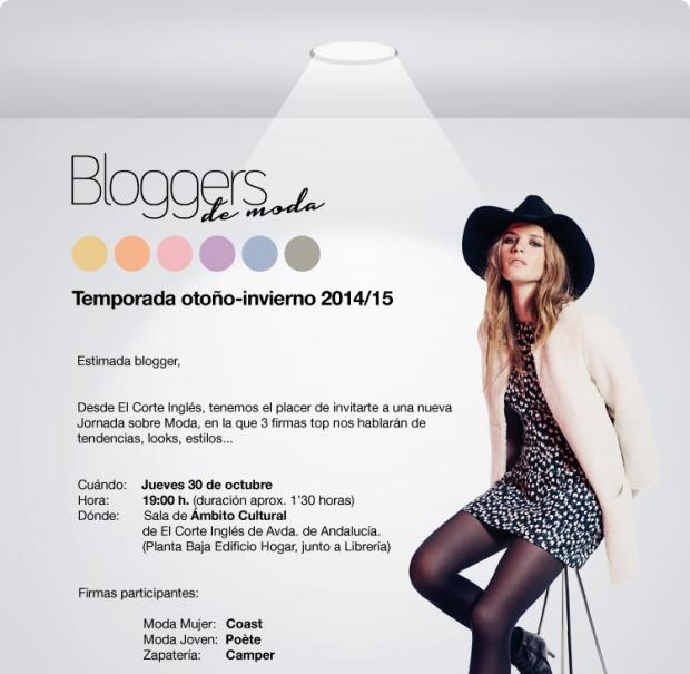 cartel bloggers moda C.Inglés